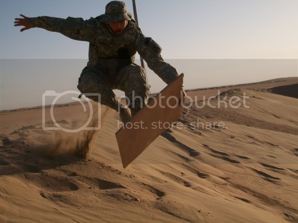 Sand Boarding in Kuwait